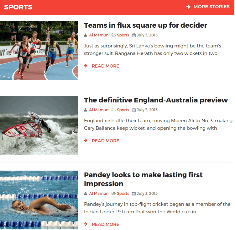 NewsKit Static Layout 03 Frontend