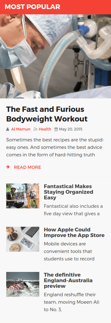 NewsKit Static Layout 04 Frontend