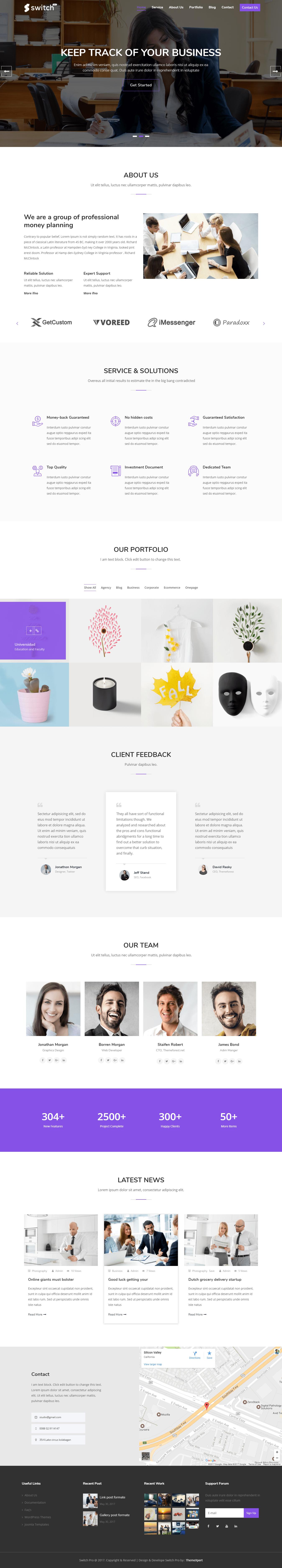 Homepage Setup